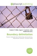 Boundary delimitation