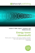 Energy tower (downdraft)