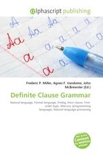 Definite Clause Grammar