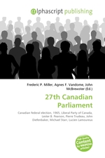 27th Canadian Parliament