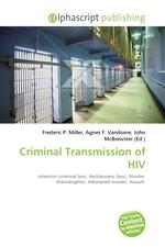 Criminal Transmission of HIV