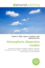 Atmospheric dispersion models