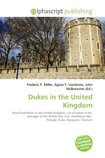 Dukes in the United Kingdom